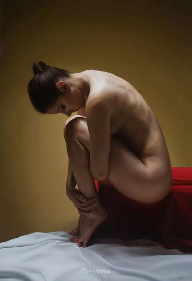 法国超写实人体油画,也很震撼!插图17