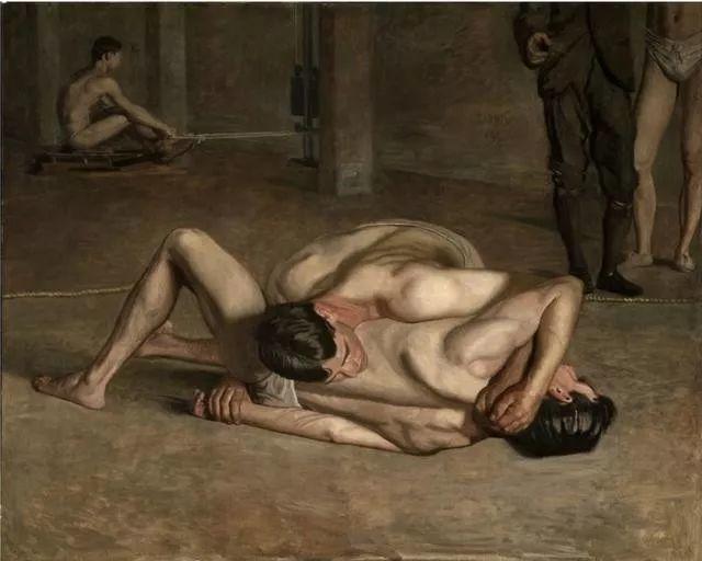 棕色调的现实主义绘画者 美国画家Thomas Eakins插图