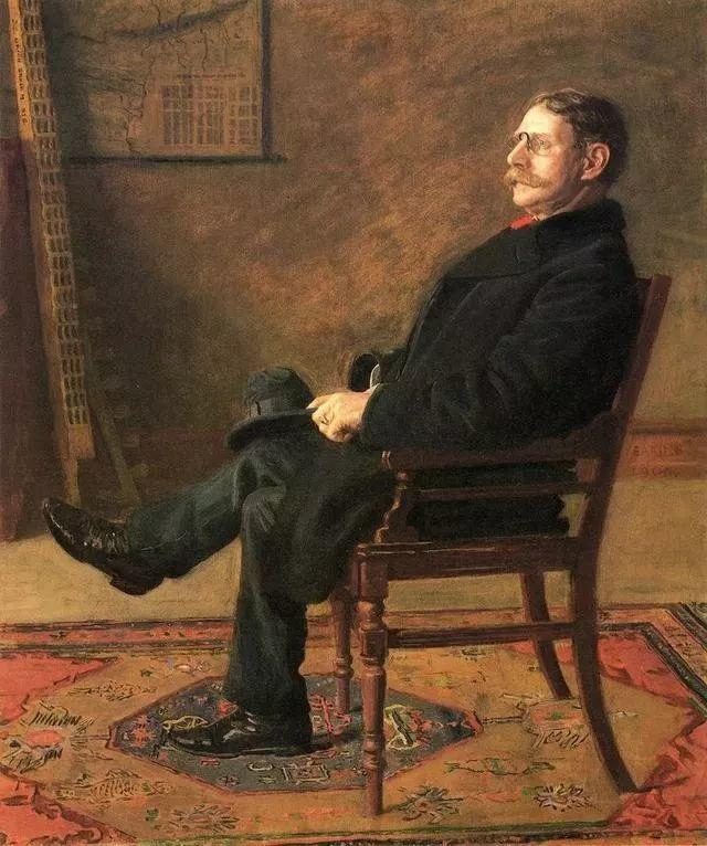 棕色调的现实主义绘画者 美国画家Thomas Eakins插图1