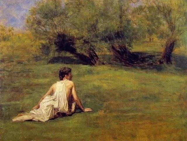 棕色调的现实主义绘画者 美国画家Thomas Eakins插图3