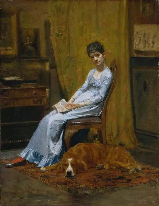 棕色调的现实主义绘画者 美国画家Thomas Eakins插图5
