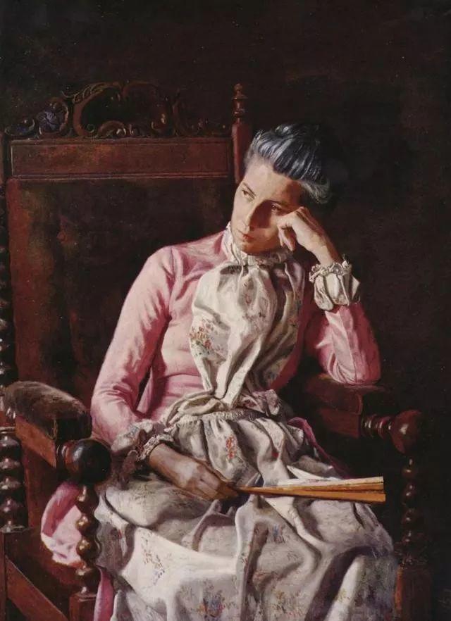 棕色调的现实主义绘画者 美国画家Thomas Eakins插图6