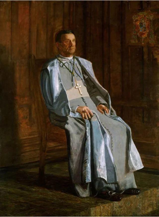 棕色调的现实主义绘画者 美国画家Thomas Eakins插图7