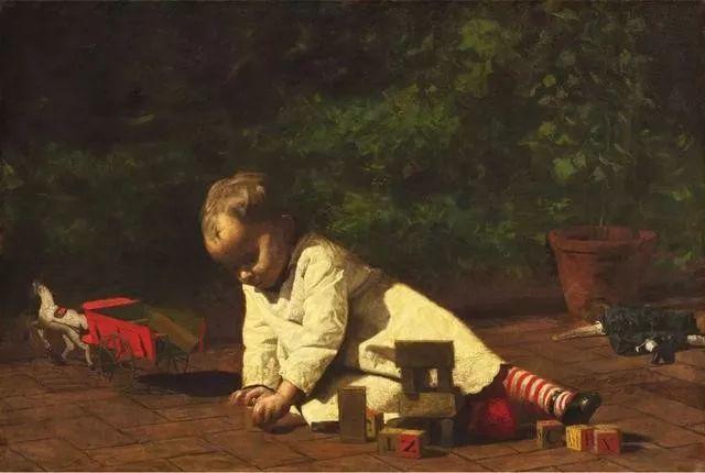棕色调的现实主义绘画者 美国画家Thomas Eakins插图8