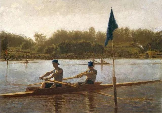 棕色调的现实主义绘画者 美国画家Thomas Eakins插图9