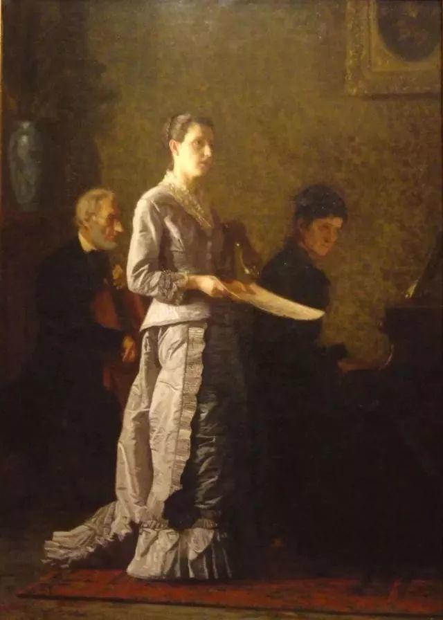 棕色调的现实主义绘画者 美国画家Thomas Eakins插图14