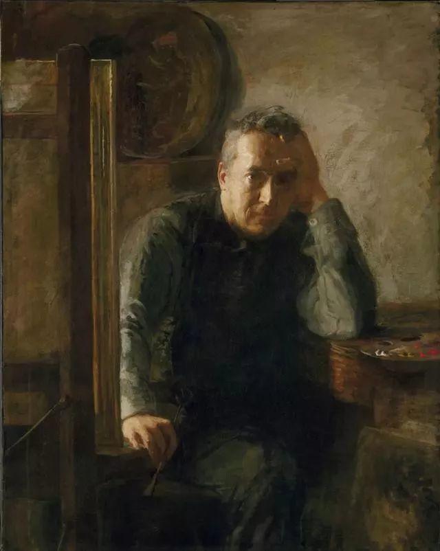 棕色调的现实主义绘画者 美国画家Thomas Eakins插图15