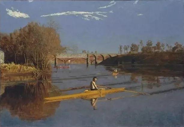 棕色调的现实主义绘画者 美国画家Thomas Eakins插图17