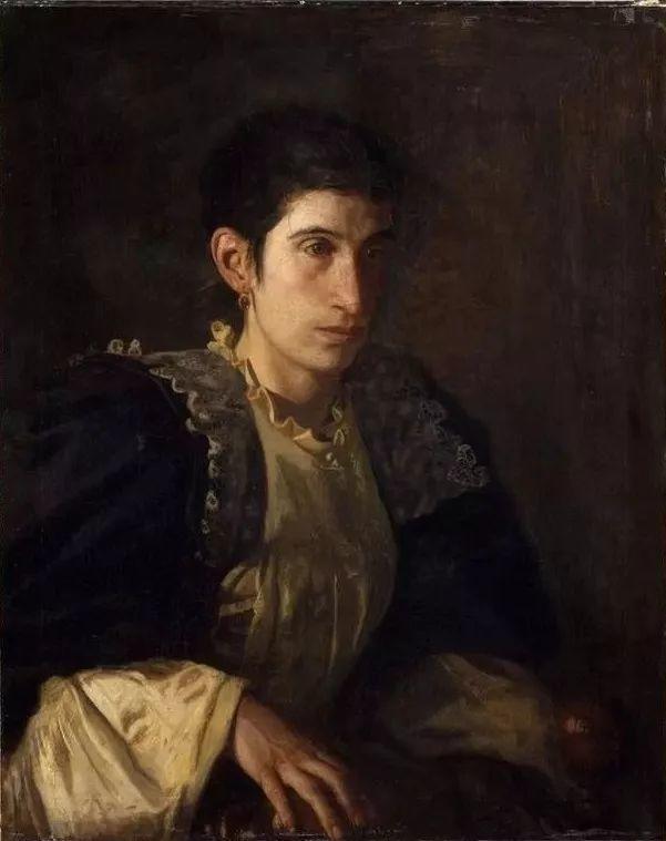 棕色调的现实主义绘画者 美国画家Thomas Eakins插图19