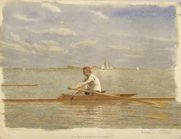 棕色调的现实主义绘画者 美国画家Thomas Eakins插图23