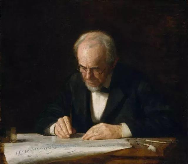 棕色调的现实主义绘画者 美国画家Thomas Eakins插图25