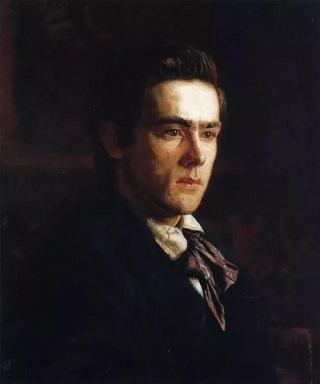 棕色调的现实主义绘画者 美国画家Thomas Eakins插图29