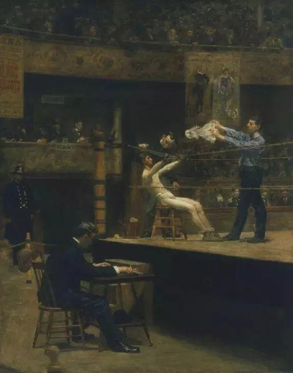 棕色调的现实主义绘画者 美国画家Thomas Eakins插图31