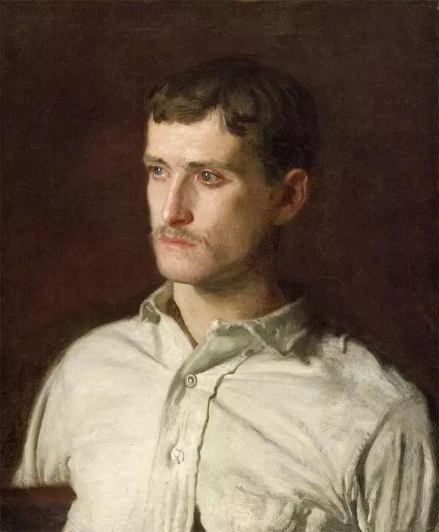 棕色调的现实主义绘画者 美国画家Thomas Eakins插图35
