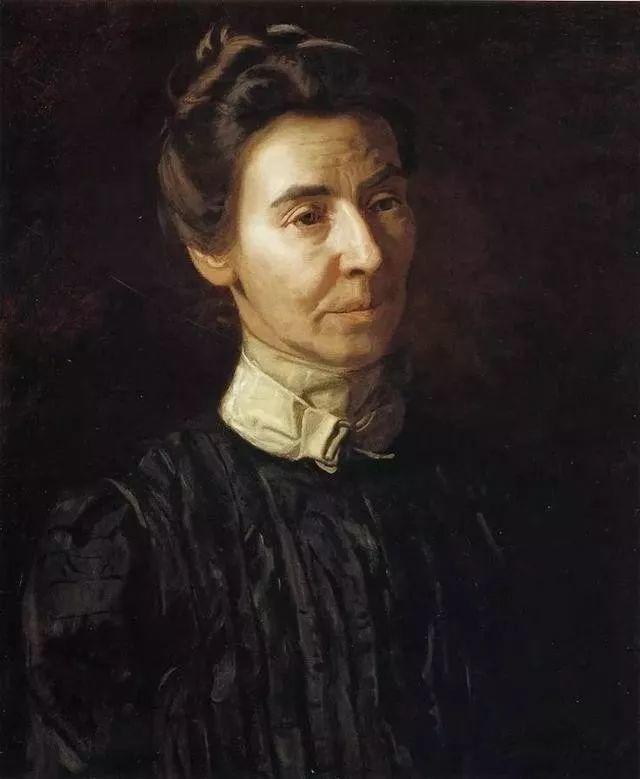 棕色调的现实主义绘画者 美国画家Thomas Eakins插图38