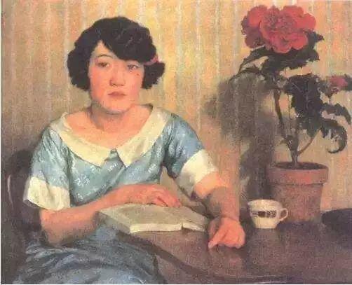 中外知名画家们几乎都为爱人画过像插图63