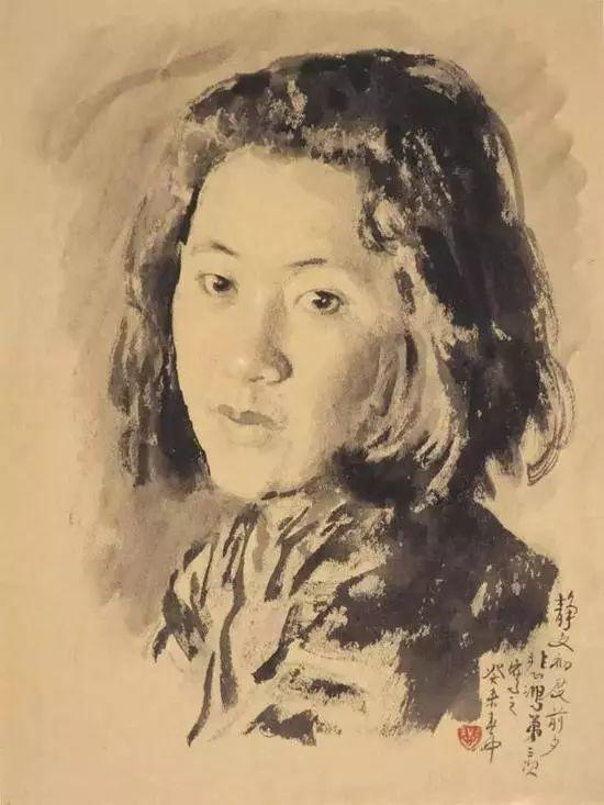 中外知名画家们几乎都为爱人画过像插图71