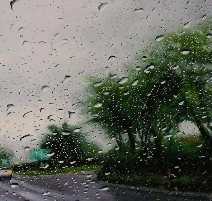 朦胧雨景,Karen Woods绘画作品插图15