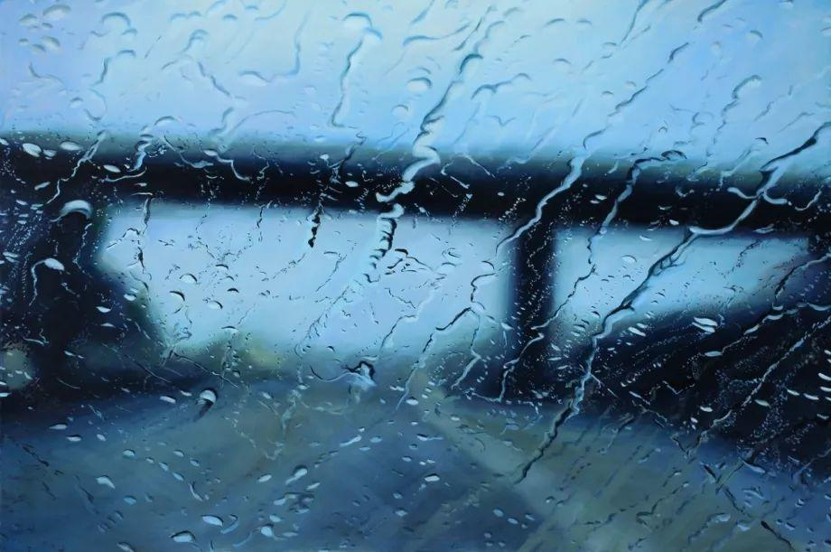 朦胧雨景,Karen Woods绘画作品插图27