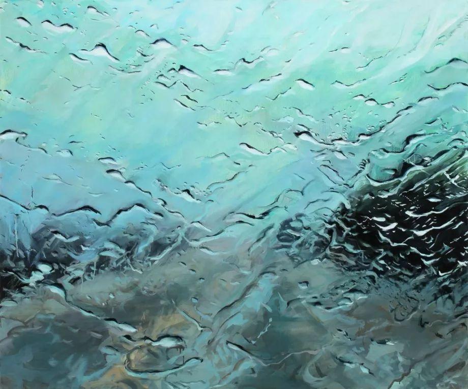 朦胧雨景,Karen Woods绘画作品插图29