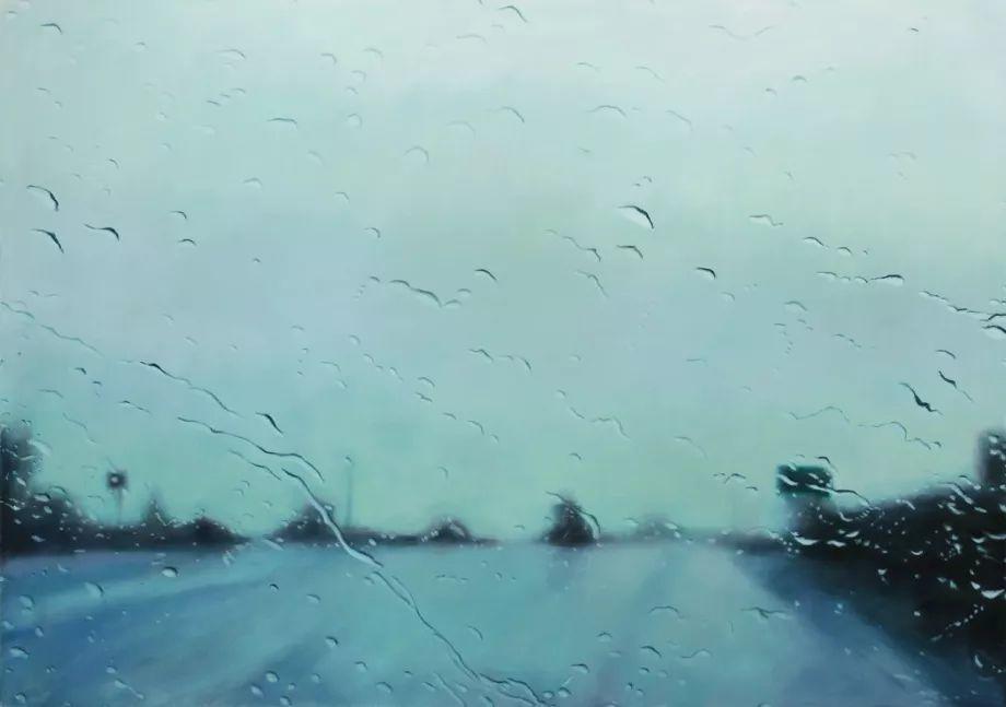朦胧雨景,Karen Woods绘画作品插图31