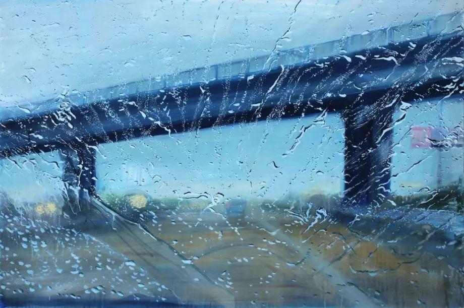 朦胧雨景,Karen Woods绘画作品插图33