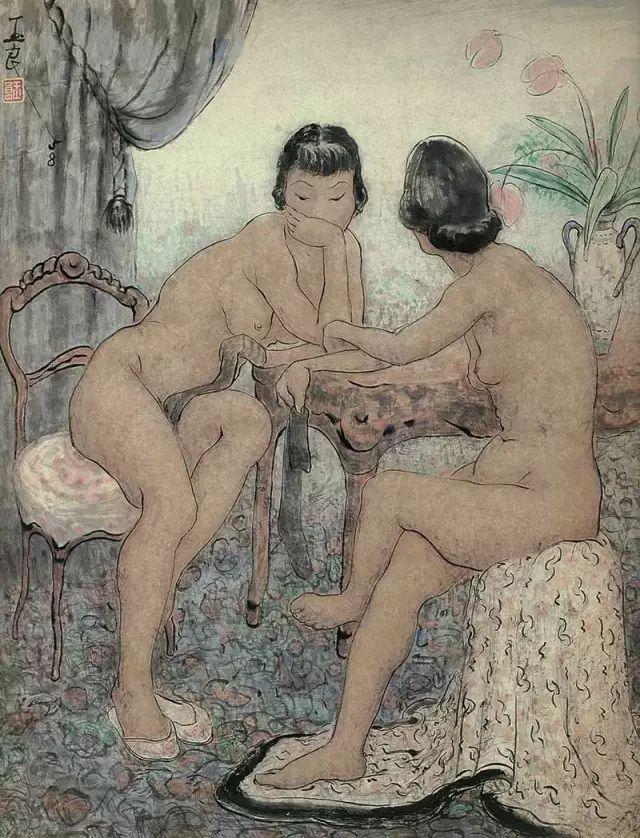 潘玉良:以女性视角解读人体插图44