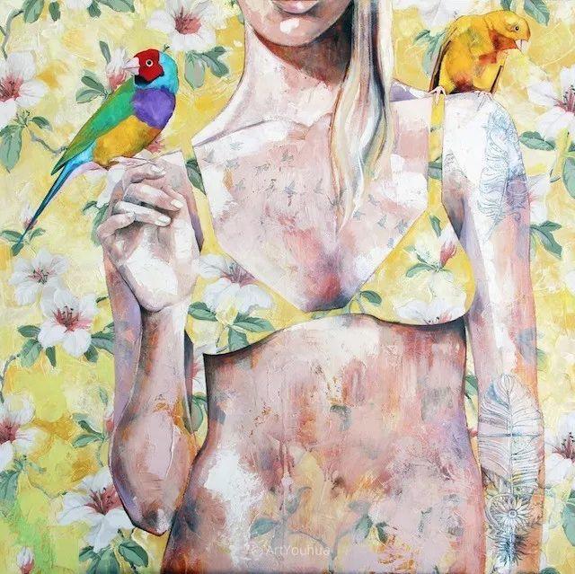 澳大利亚画家Jessica Watts绘画作品插图