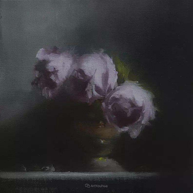 静物花卉与风景——英国画家Neil Carroll系列4插图1