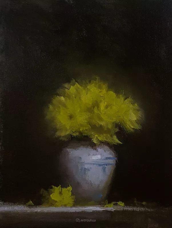 静物花卉与风景——英国画家Neil Carroll系列4插图2