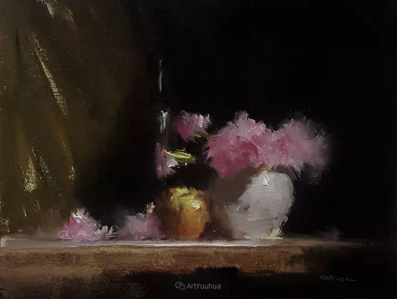 静物花卉与风景——英国画家Neil Carroll系列4插图7