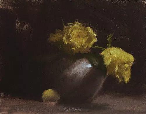 静物花卉与风景——英国画家Neil Carroll系列4插图13