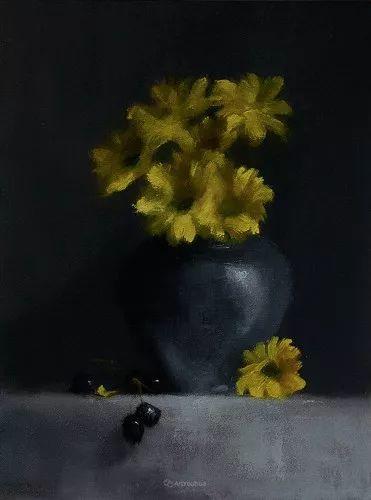 静物花卉与风景——英国画家Neil Carroll系列4插图14