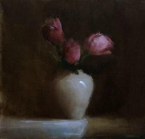 静物花卉与风景——英国画家Neil Carroll系列4插图16