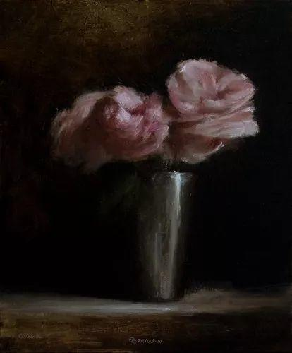 静物花卉与风景——英国画家Neil Carroll系列4插图17