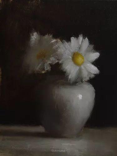 静物花卉与风景——英国画家Neil Carroll系列4插图18