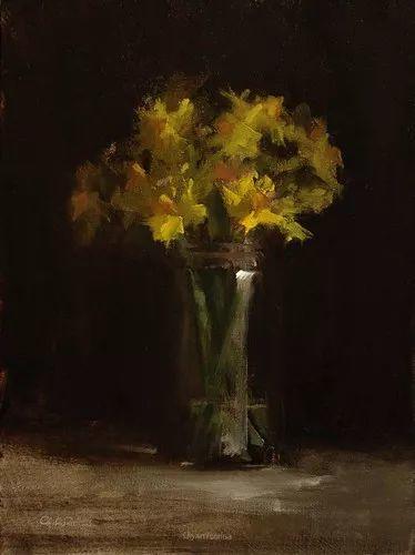 静物花卉与风景——英国画家Neil Carroll系列4插图19