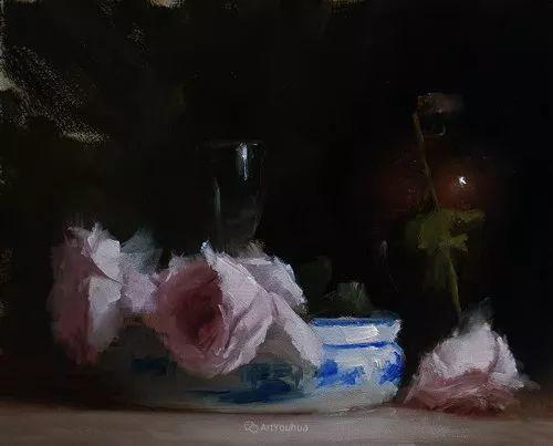 静物花卉与风景——英国画家Neil Carroll系列4插图21
