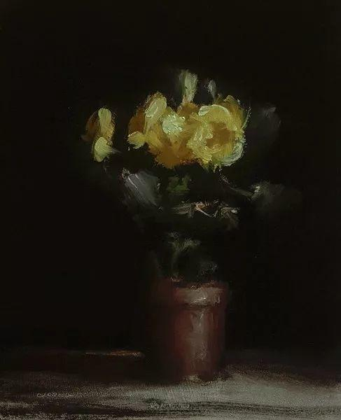 静物花卉与风景——英国画家Neil Carroll系列4插图23