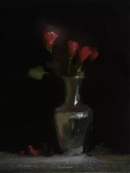 静物花卉与风景——英国画家Neil Carroll系列4插图24