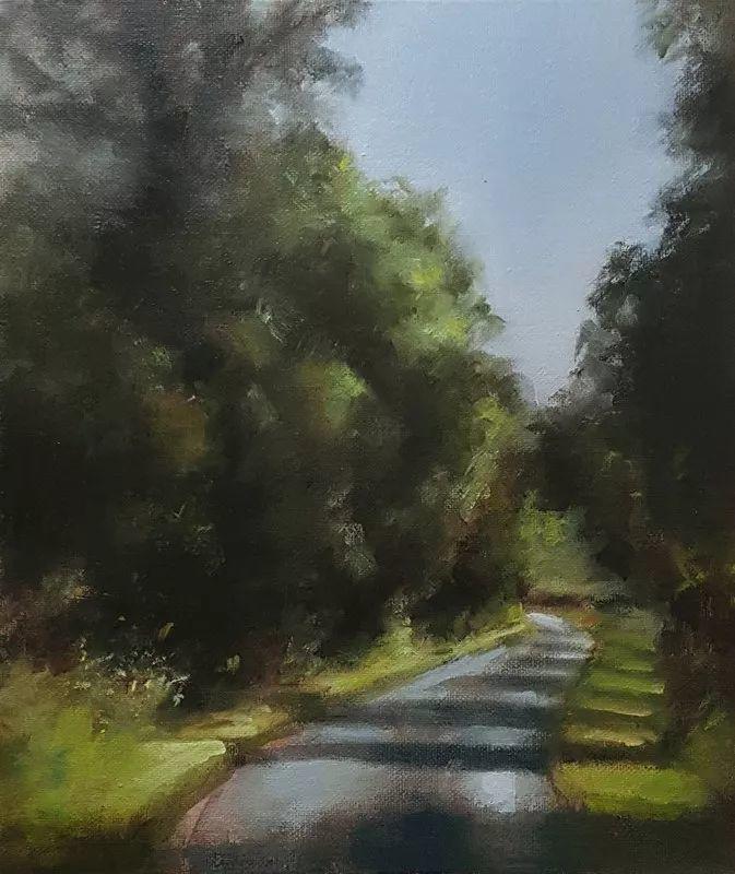 静物花卉与风景——英国画家Neil Carroll系列4插图37