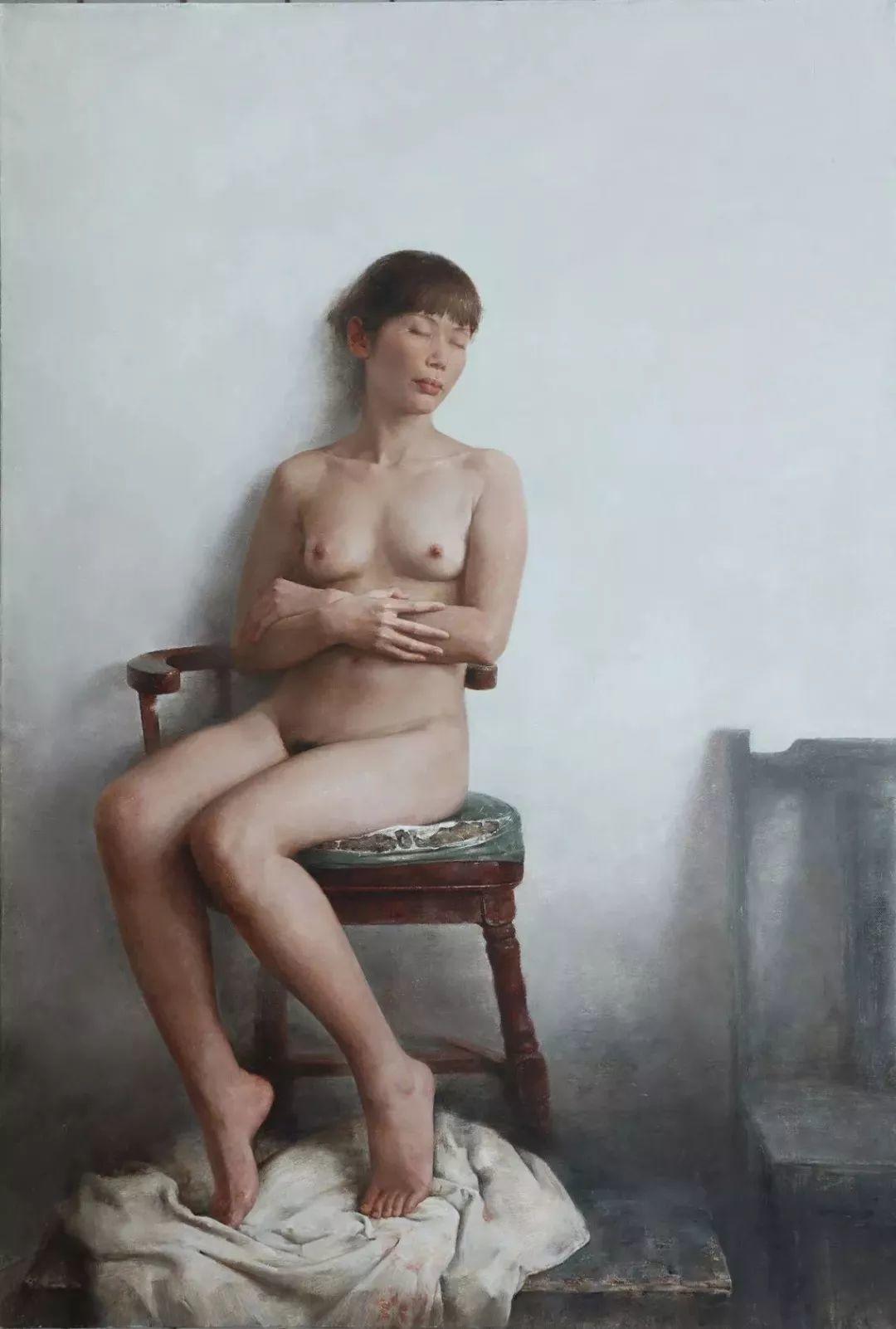 古典的纯净之美,付胜辉写实油画人物插图25
