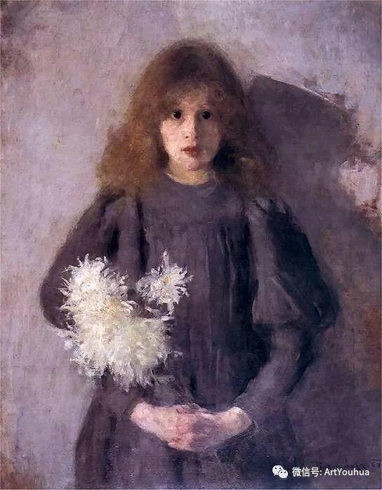 波兰女画家Olga Boznańska插图1