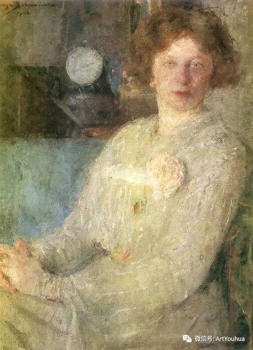 波兰女画家Olga Boznańska插图9