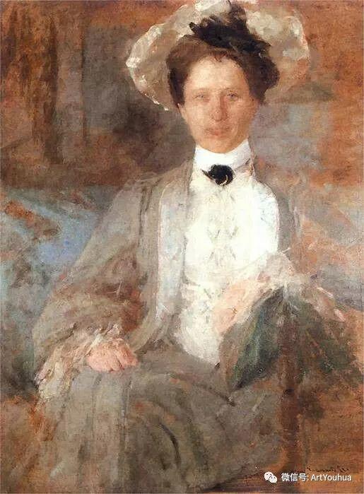 波兰女画家Olga Boznańska插图13