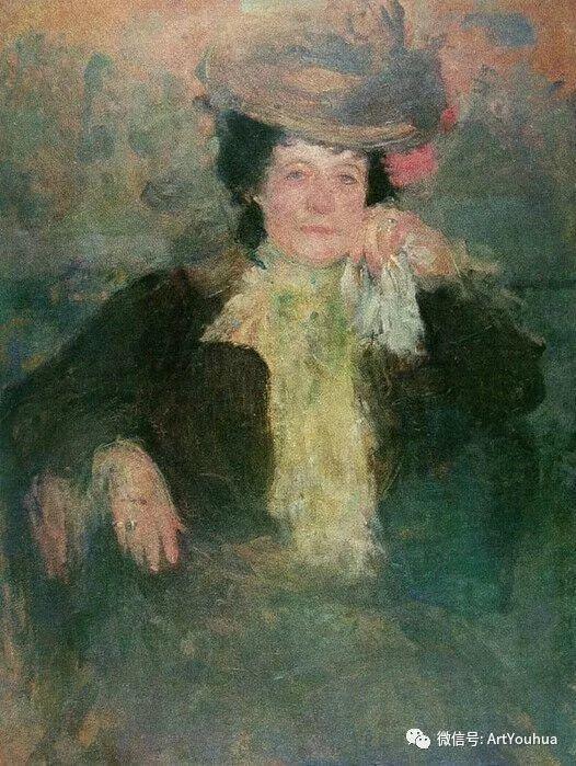 波兰女画家Olga Boznańska插图17