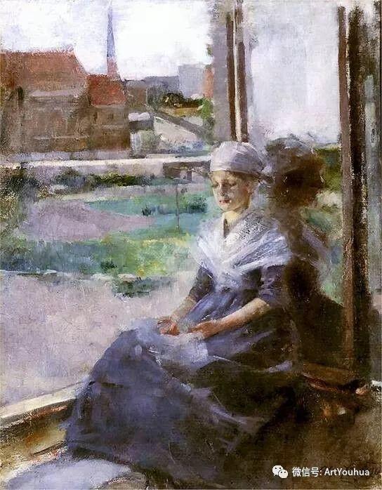 波兰女画家Olga Boznańska插图23