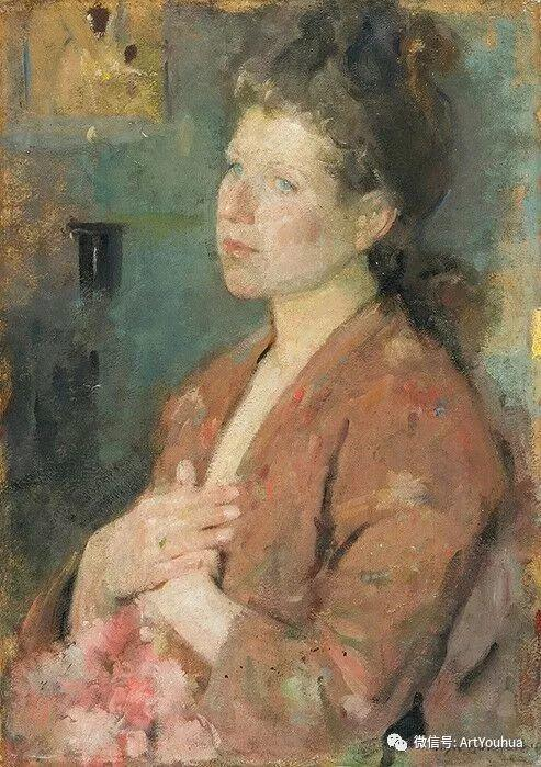 波兰女画家Olga Boznańska插图25