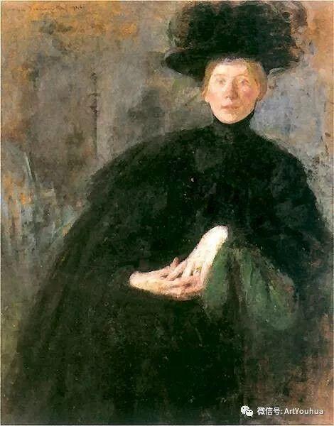 波兰女画家Olga Boznańska插图31