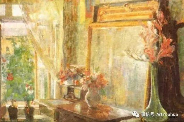 波兰女画家Olga Boznańska插图35
